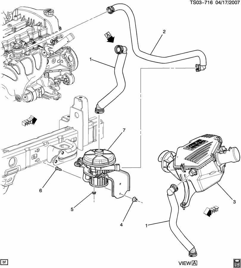 2001 Chevy Blazer Secondary Air Injection Pump Diagram