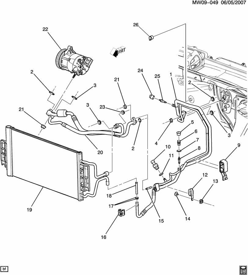 Chevrolet Impala A/C REFRIGERATION SYSTEM