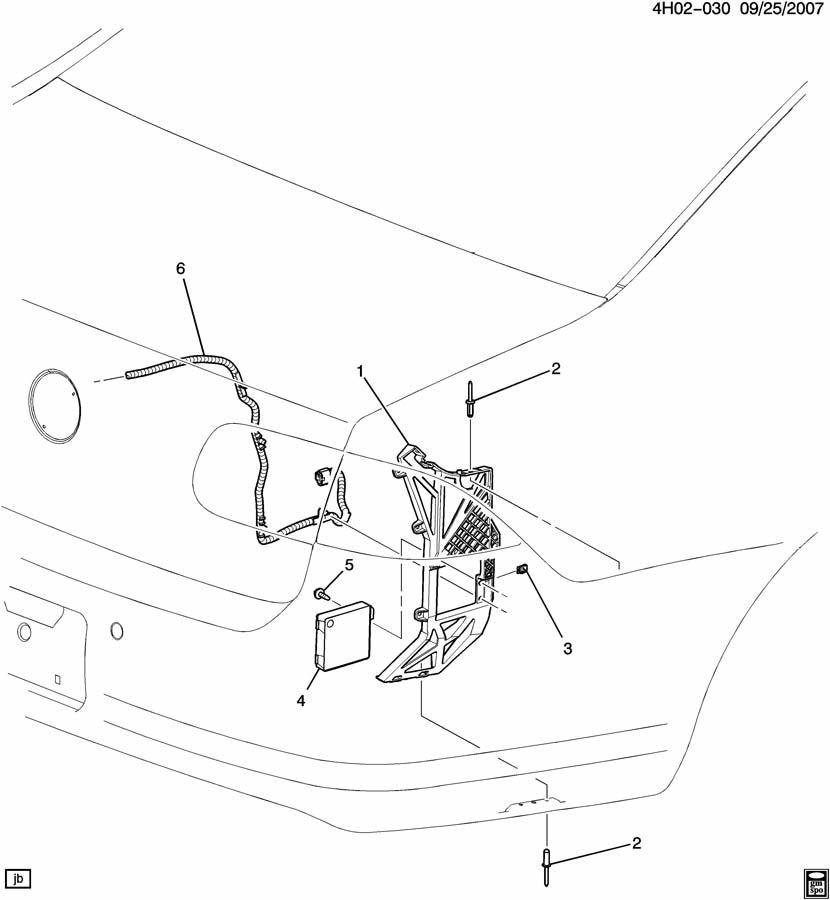2009 Buick Lucerne SENSOR SYSTEM/SIDE COLLISION