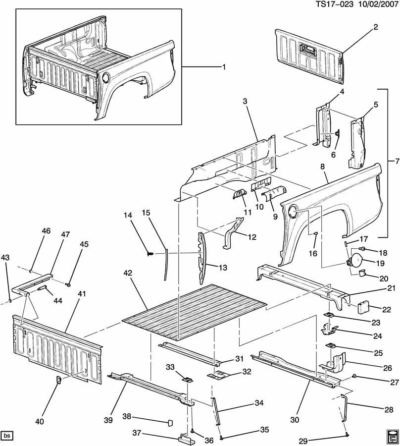 PICKUP BOX/FLEETSIDE