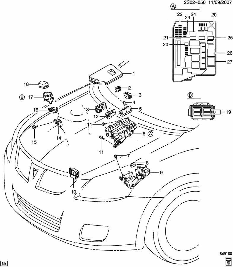 RELAYS/ENGINE COMPARTMENT-JUNCTION BLOCKS & RELATED PARTS