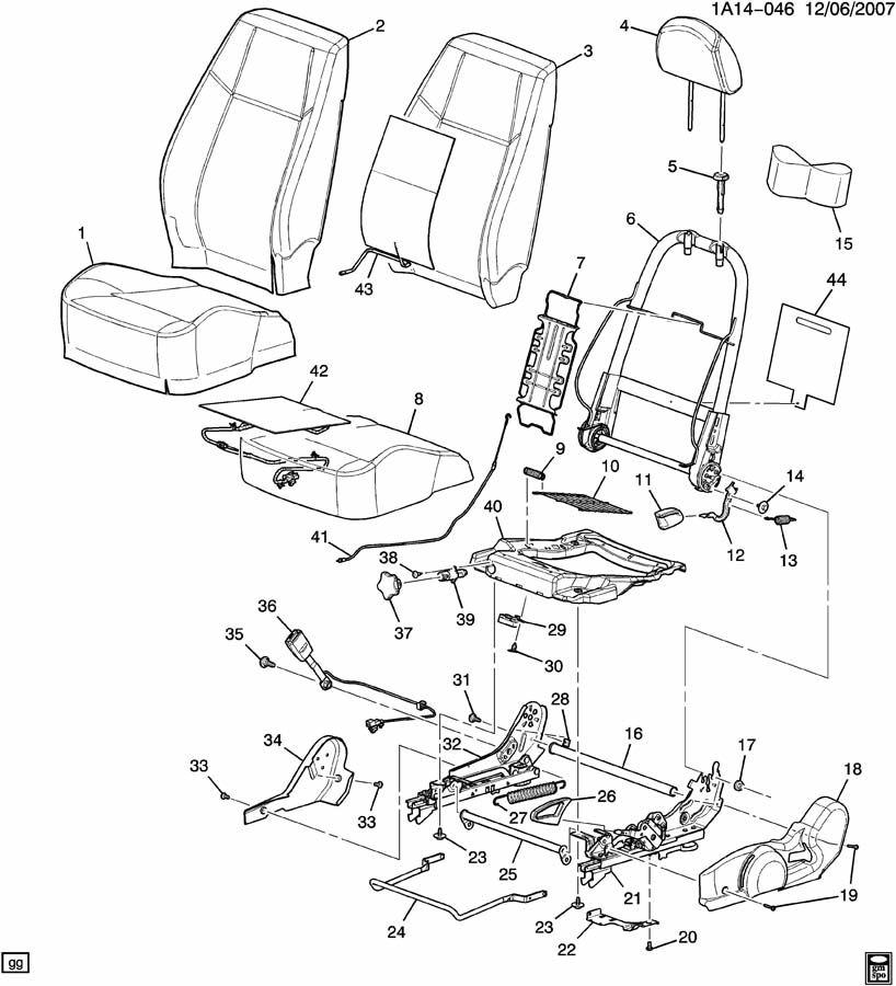 SEAT ASM/DRIVER-2 TRIM