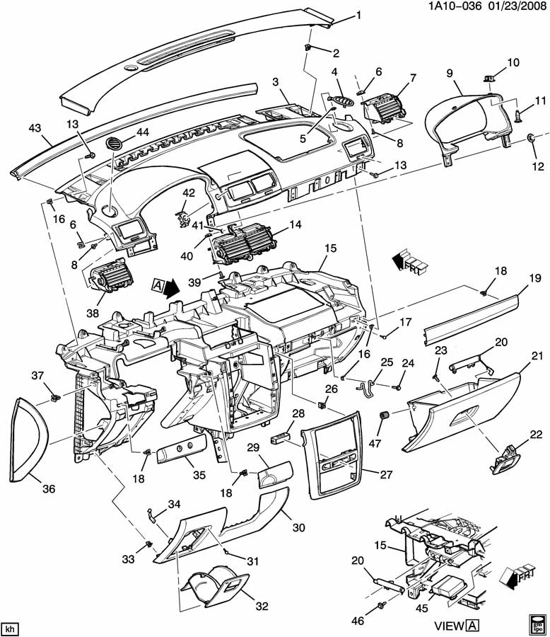 Chevy Hhr Parts Diagram • Wiring Diagram For Free