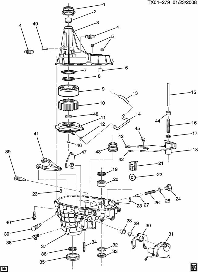 Chevrolet SUBURBAN TRANSFER CASE