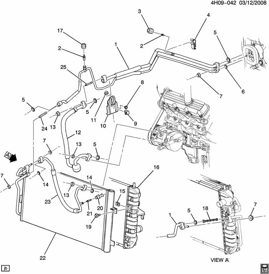 Buick Lucerne A/C REFRIGERATION SYSTEM
