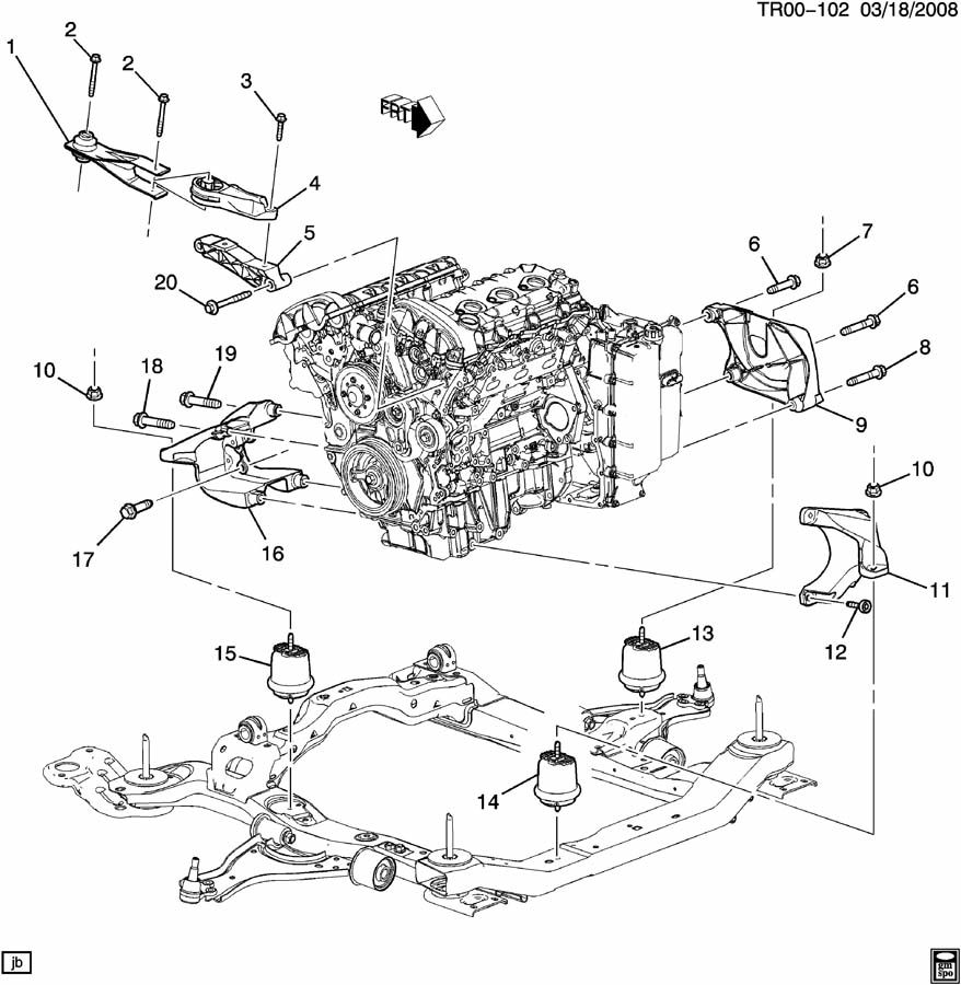 2008 Gmc Acadia Power Steering Pump Location, 2008, Free