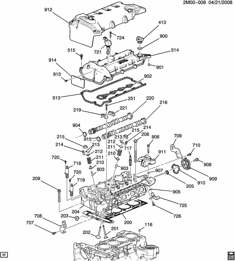 Pontiac Solstice Camshaft Position Sensor Location