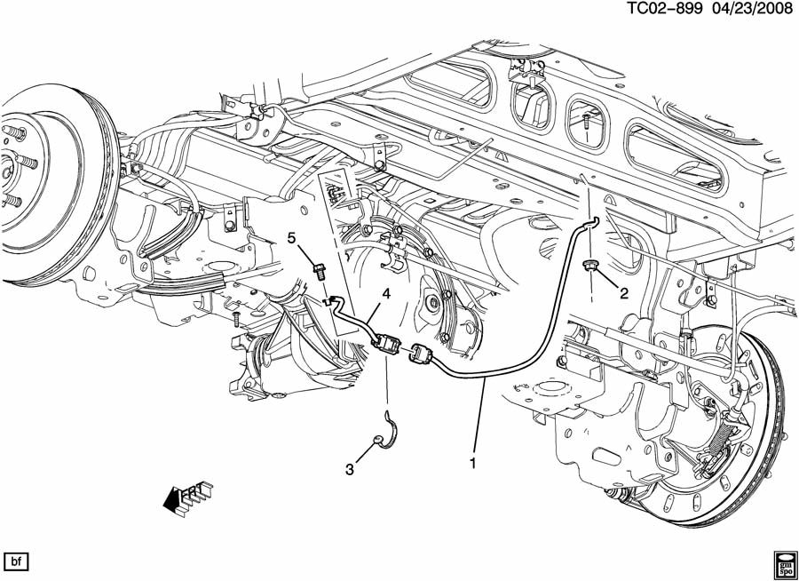 gmc wiring harness retainer sizes