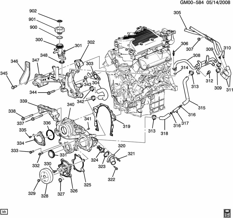 Buick V6 Engine Parts, Buick, Free Engine Image For User