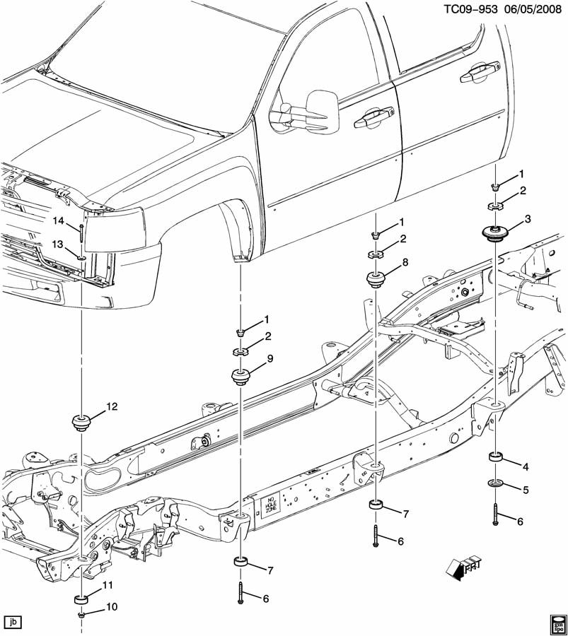 Toyota Front End Body Parts Diagram. Toyota. Auto Wiring