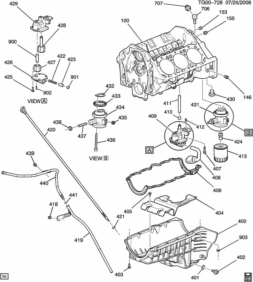 Service manual [Oil Pump Removal Procedure For A 2009 Gmc