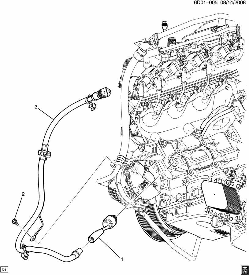 Cadillac CTS ENGINE BLOCK HEATER
