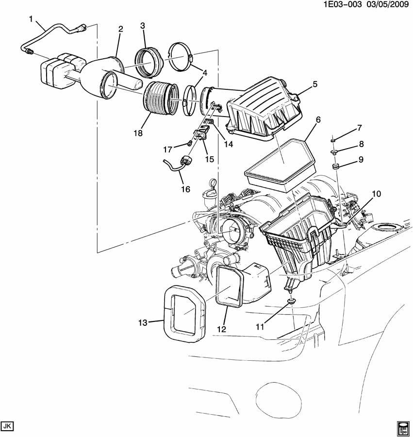 Chevrolet Camaro AIR INTAKE SYSTEM