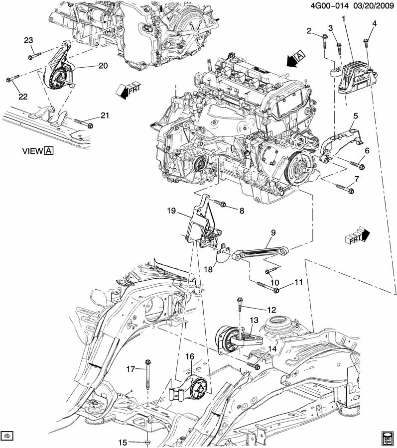 ENGINE & TRANSMISSION MOUNTING