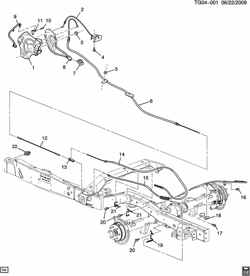 Service manual [2012 Gmc Savana Diagram Showing Brake Line