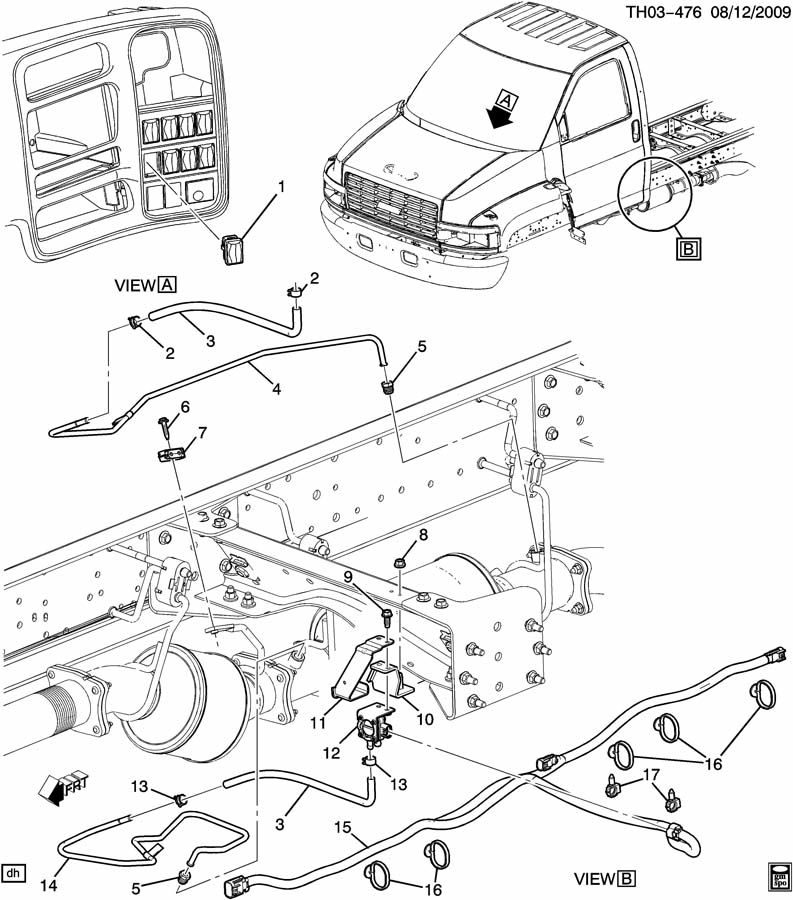 EXHAUST PRESSURE DIFFERENTIAL SENSORS