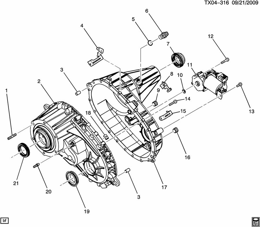 The Joy Of Painting Host: Borg Warner 4484 Transfer Case Parts