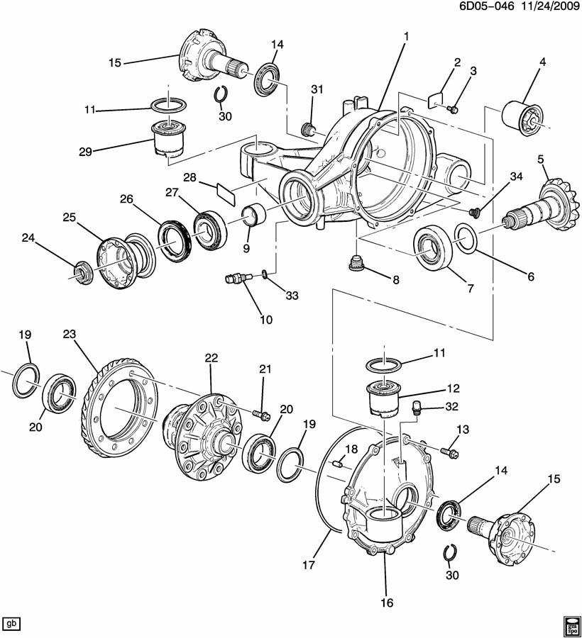 Service manual [1998 Cadillac Catera How To Change Pinion