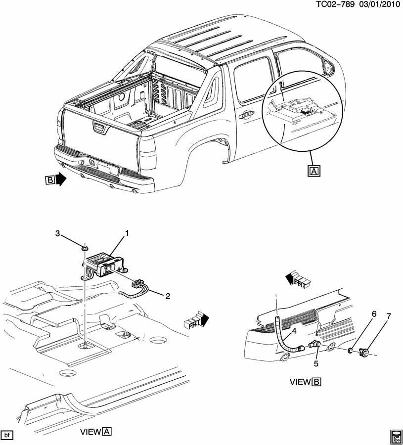 Chevrolet SUBURBAN SENSOR SYSTEM/REAR OBJECT