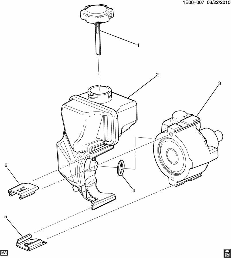STEERING PUMP ASM