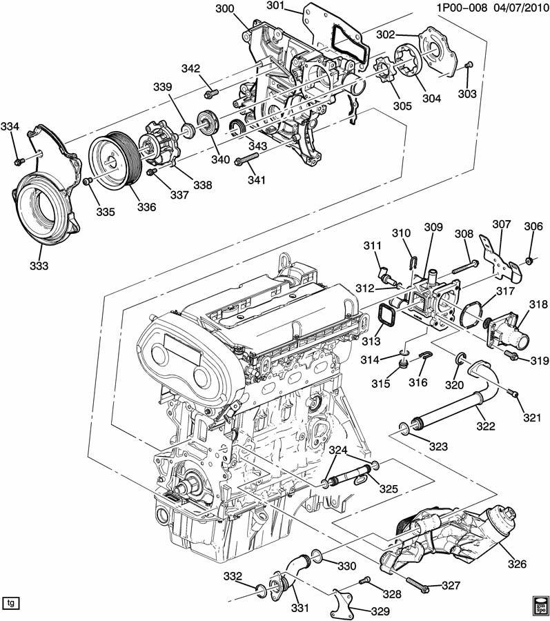 2011 chevy aveo engine diagram thermostat