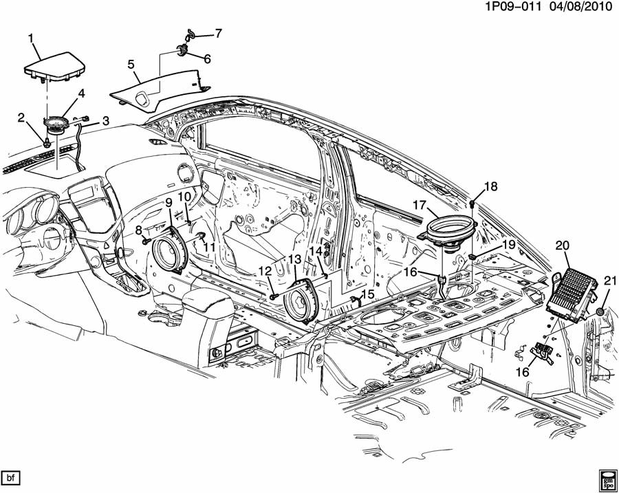 [DIAGRAM] 2009 Chevy Malibu Speaker Wire Diagram FULL