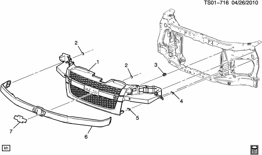 Service manual [Diagram Of Removing A Grill From A 2006