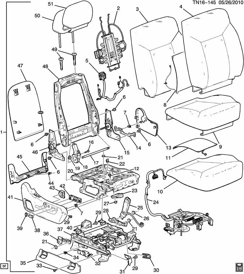 PASSENGER SEAT/BUCKET