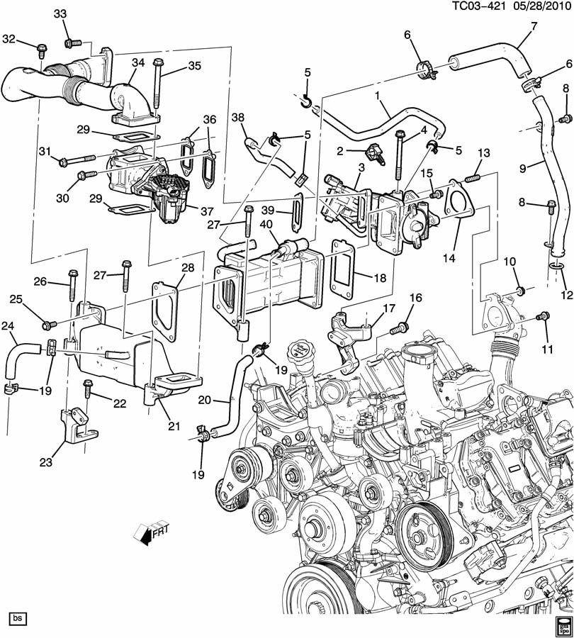 2014 Duramax 6 6l Turbo Diesel V8 Engine Diagram