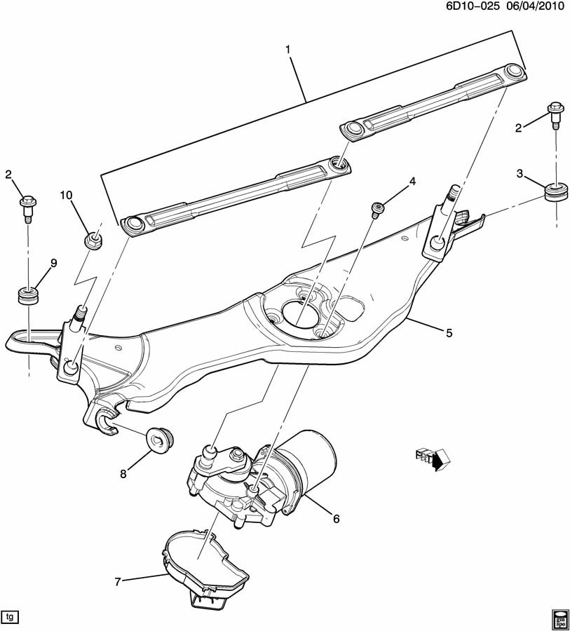 WIPER MOTOR/WINDSHIELD