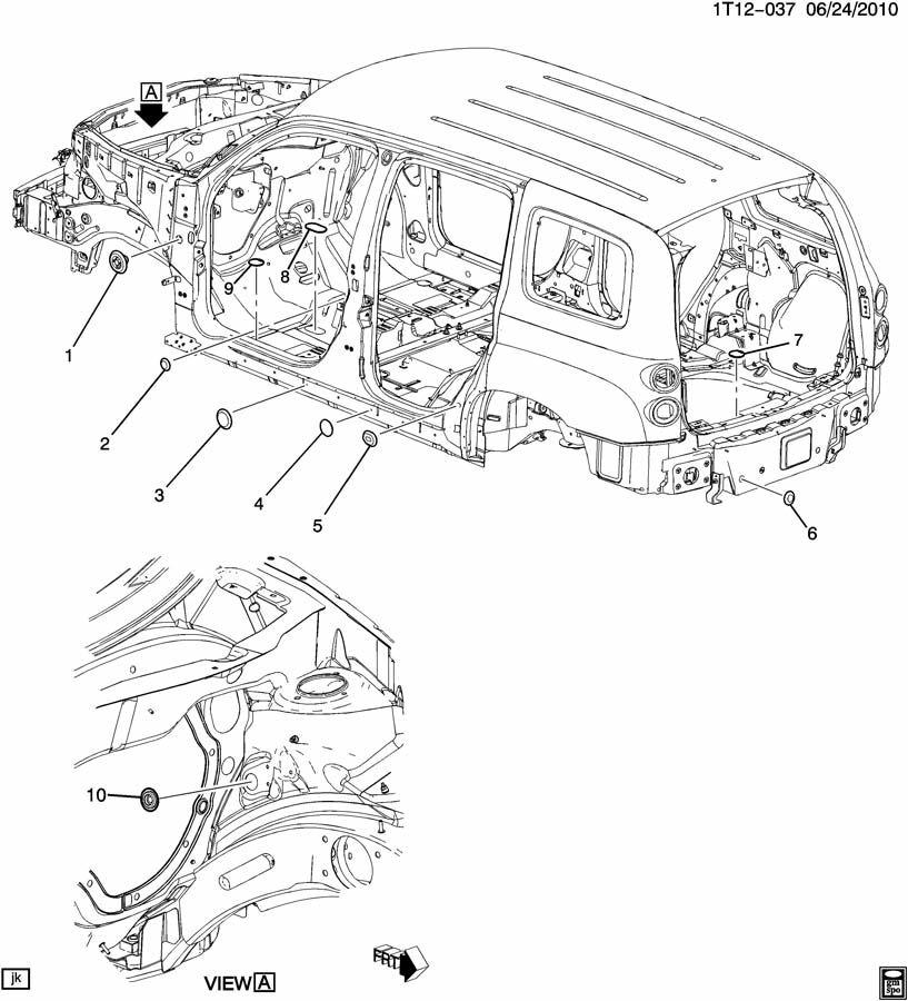 2007 Chevrolet HHR PLUGS/BODY
