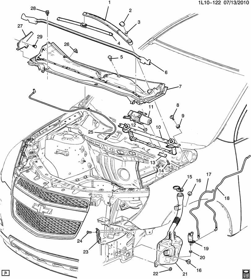 Chevrolet Equinox WIPER SYSTEM/WINDSHIELD