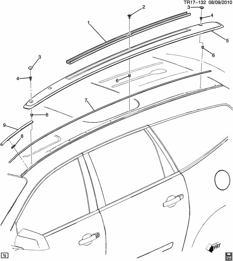 Buick LUGGAGE CARRIER