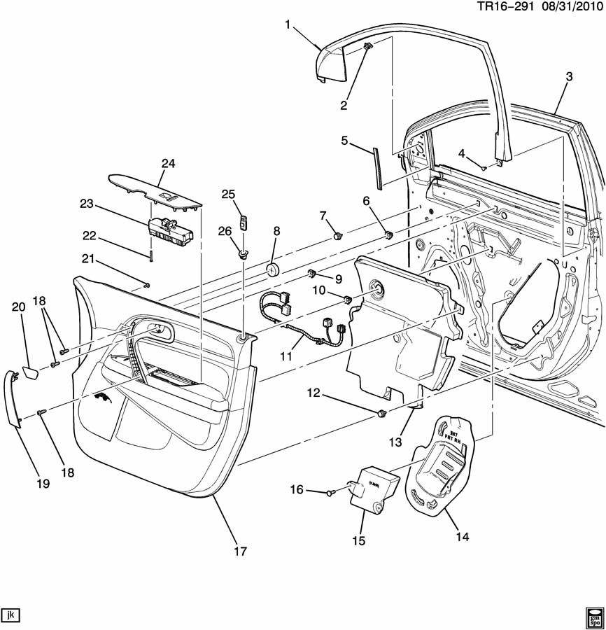 93 gm rear view mirror wiring