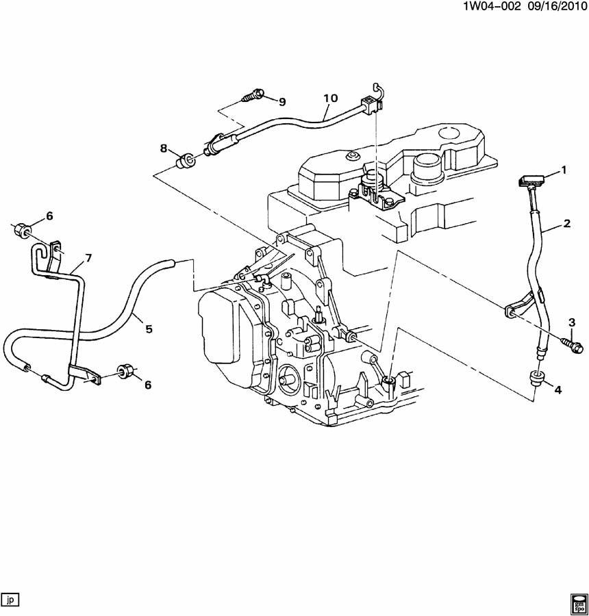 1990 Chevrolet Lumina A/TRNS TV CABLE, OIL INDICATOR & VENT