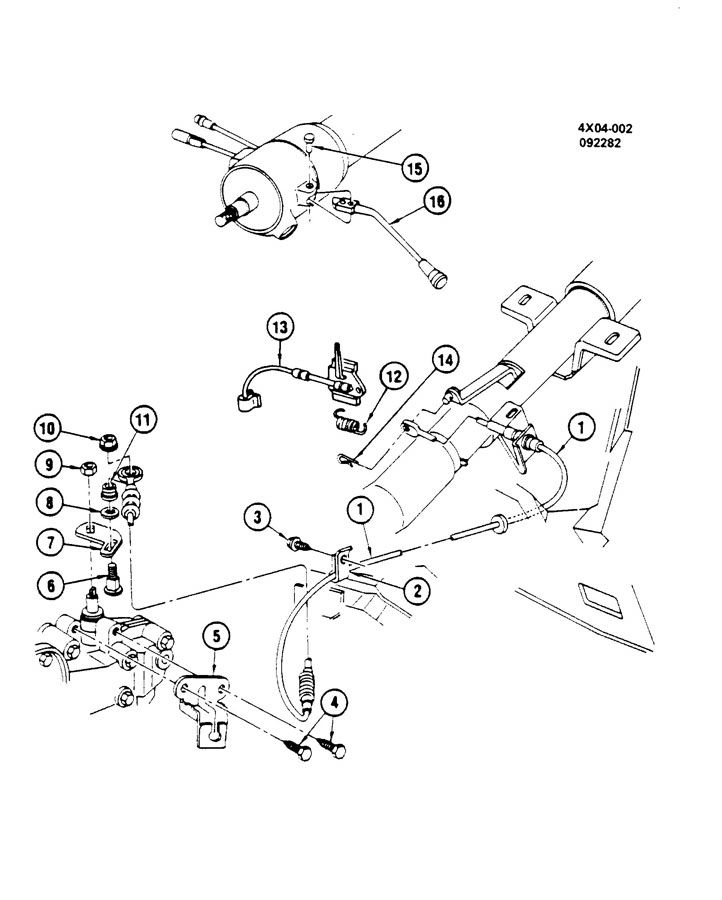 Service manual [Buick Lesabre Shift Control Automatic