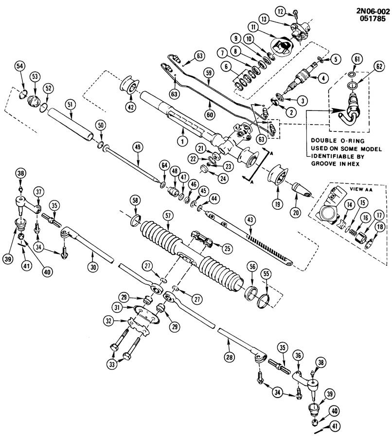 2002 Pontiac Grand Prix Rear Suspension Diagram