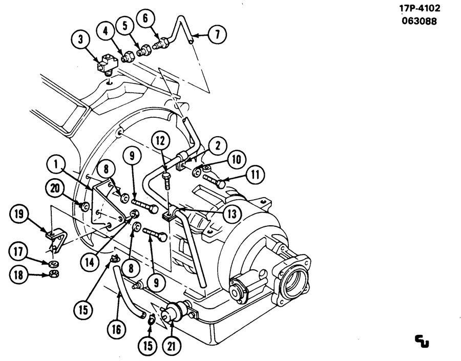 MODULATOR PIPE/AUTOMATIC TRANSMISSION