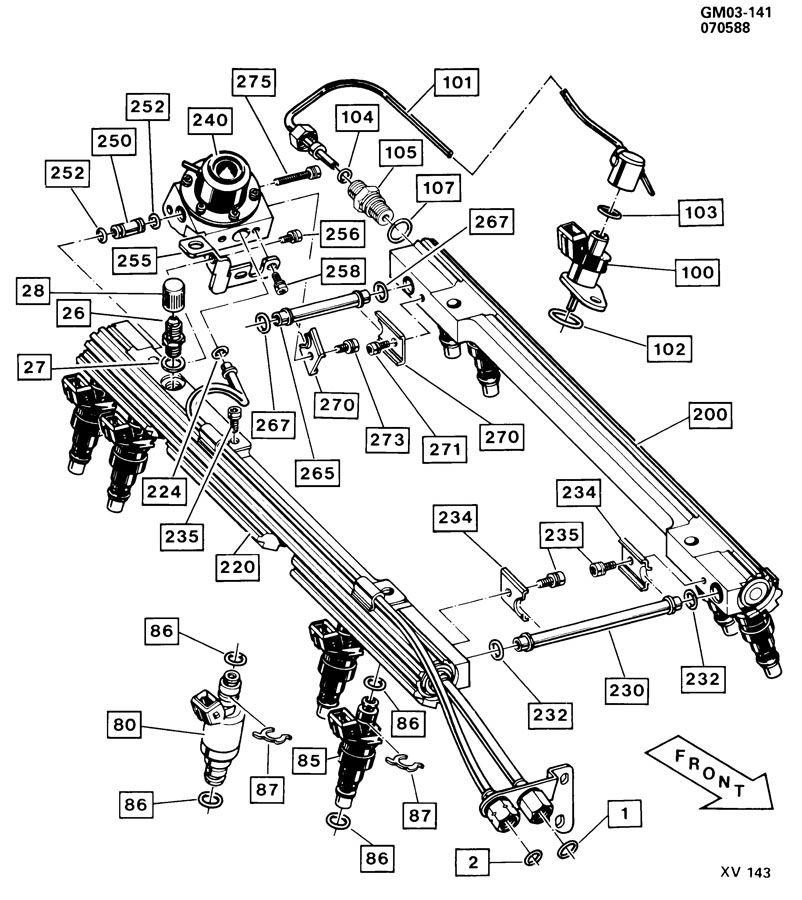 87 Corvette Cold Start Injector Wiring Diagram