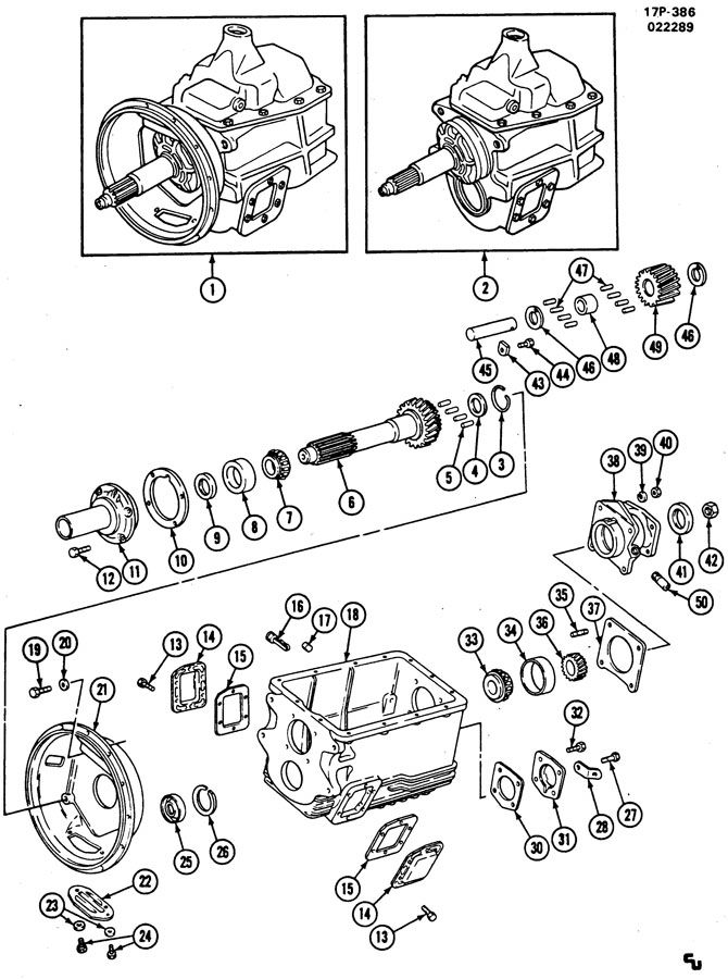 Diagrams Wiring : Eaton Super 10 Transmission Diagram