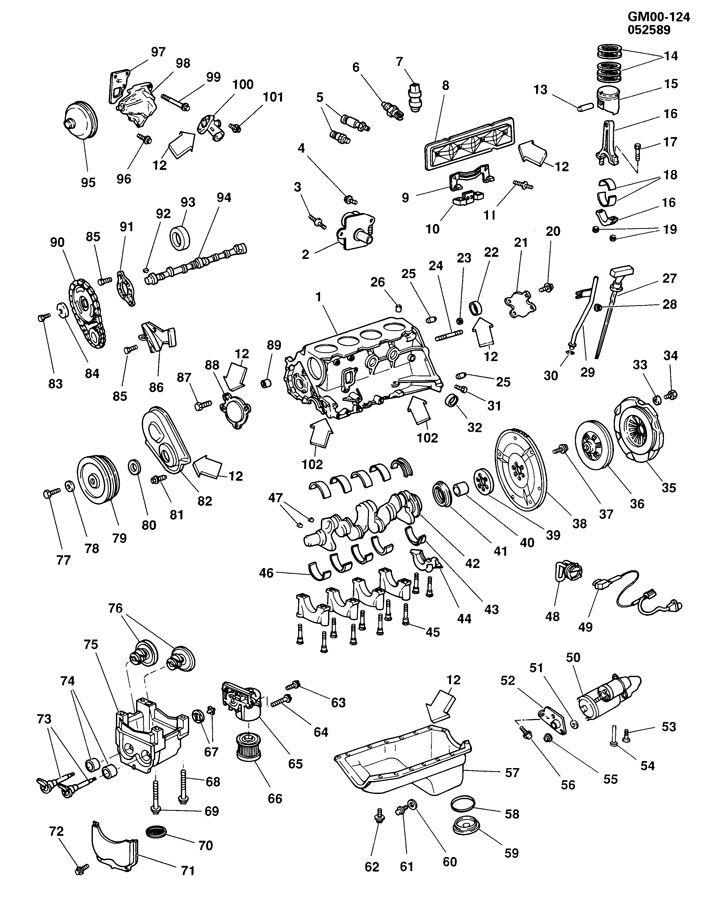 ENGINE ASM-2.5L L4 PART 1