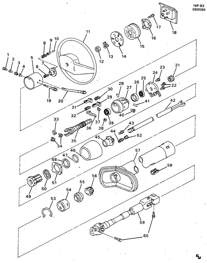 Chevy Steering Column Wiring Diagram, Chevy, Get Free