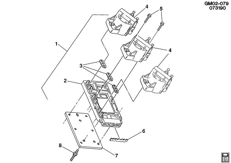 1992 Chevrolet Lumina COIL & MODULE/IGNITION