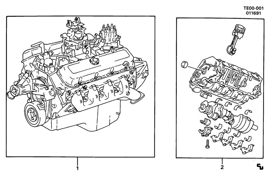 ENGINE ASM-V8 PART 1