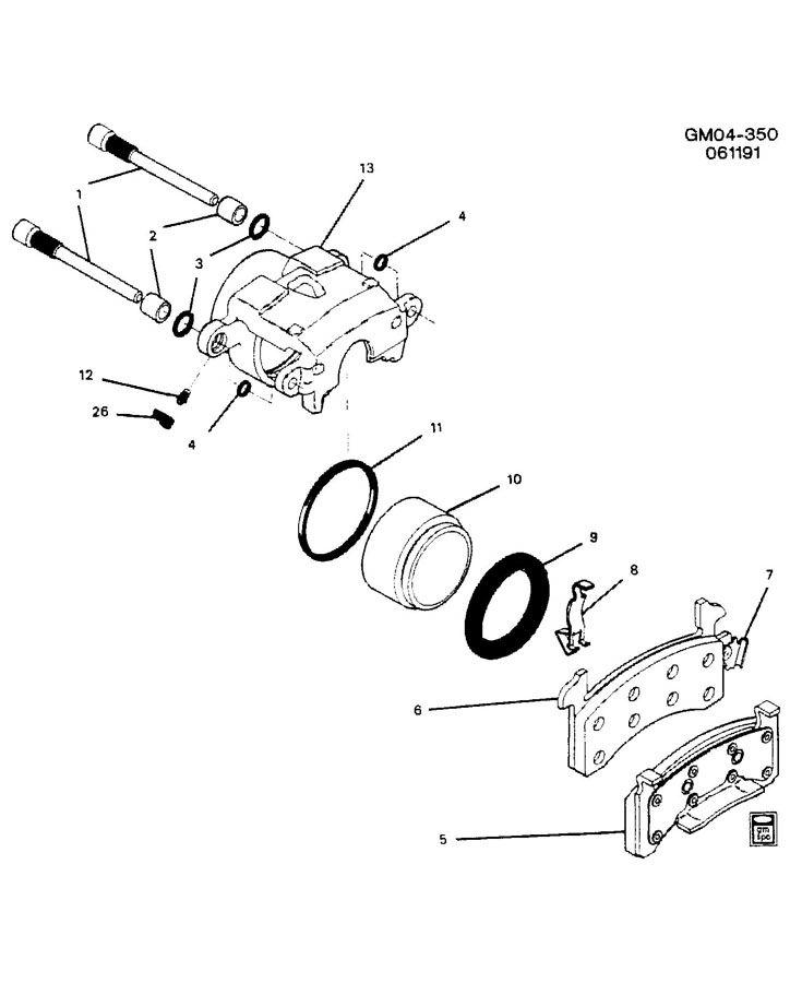 Service manual [How To Repair Front Brake Caliper 2012