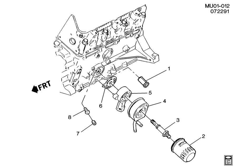 Chevrolet Lumina ENGINE OIL FILTER