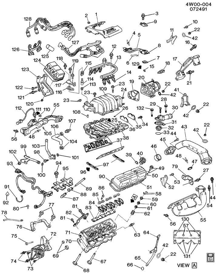 buick lucerne 2007 engine diagram