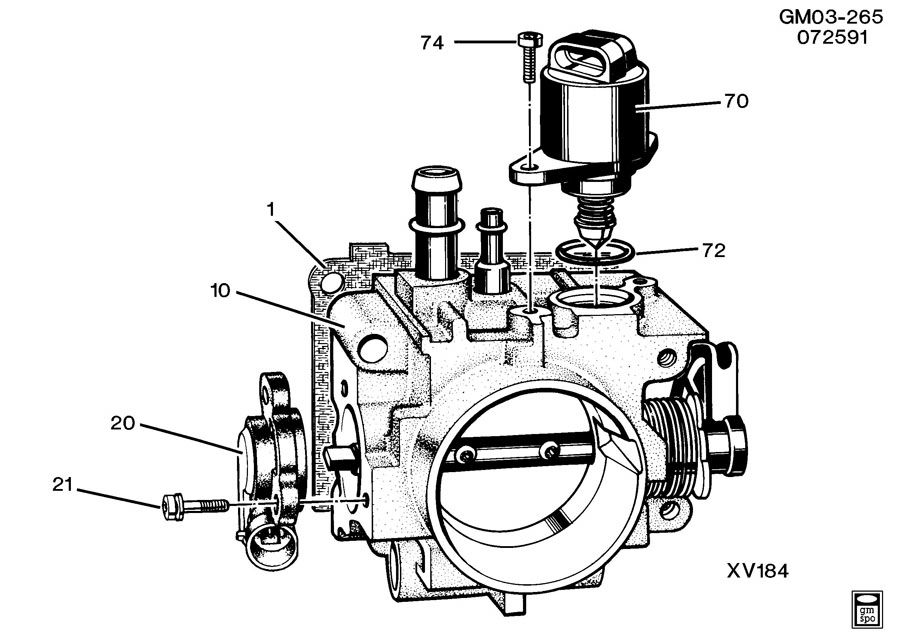 Service manual [How To Clean 1993 Geo Storm Throttle Body