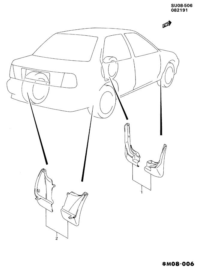 Service manual [1985 Buick Lesabre Splash Shield