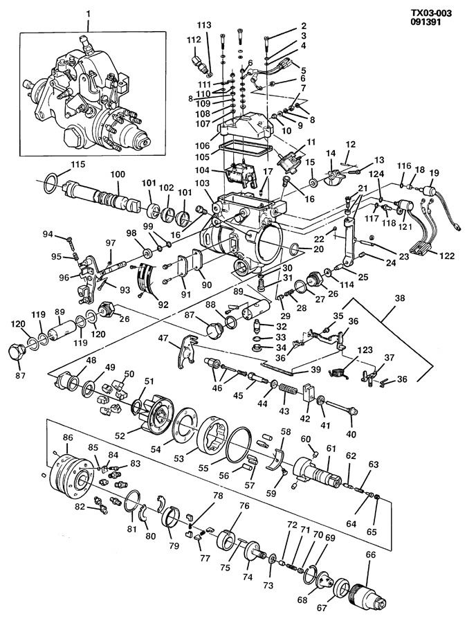 INJECTION PUMP/FUEL DIESEL-TYPICAL